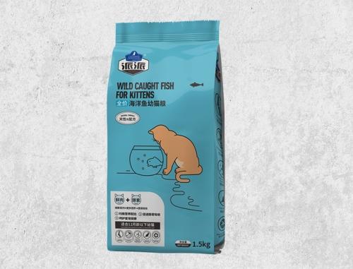海洋鱼幼猫粮